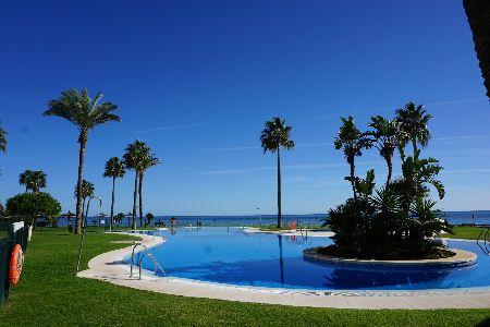 Apartamento en primera linia de la playa, Mijas Costa, Costa del Sol, España